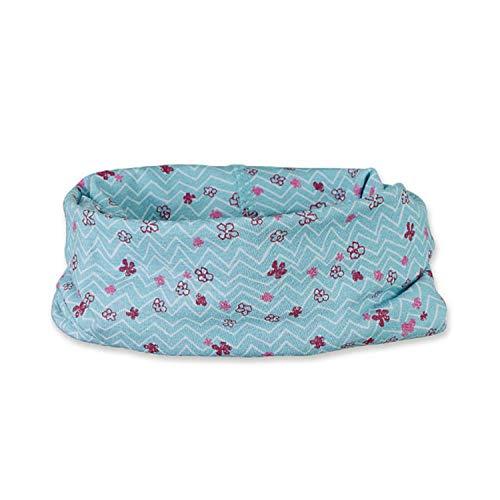 Sterntaler Sterntaler - Mädchen Baby Loop Allrounder, UV-Schutz 50+, hellblau Blümchen - 1521959, Größe 1