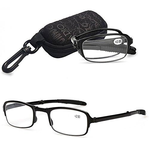 282361325c VEVESMUNDO Gafas de Lectura Plegables Hombre Mujer Compactas Presbicia  Vista Leer con.