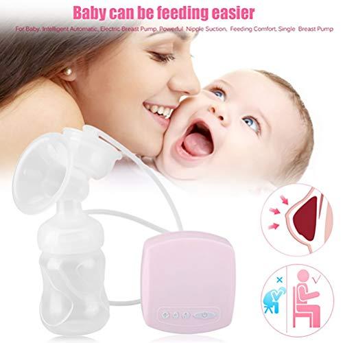 Tiralatte elettrico di aspirazione del latte di grande tiralatte automatico post-partum di massaggio,Pink