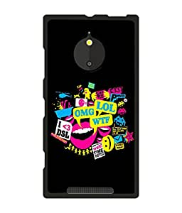 instyler BACK COVER CASE FOR NOKIA LUMIA 830
