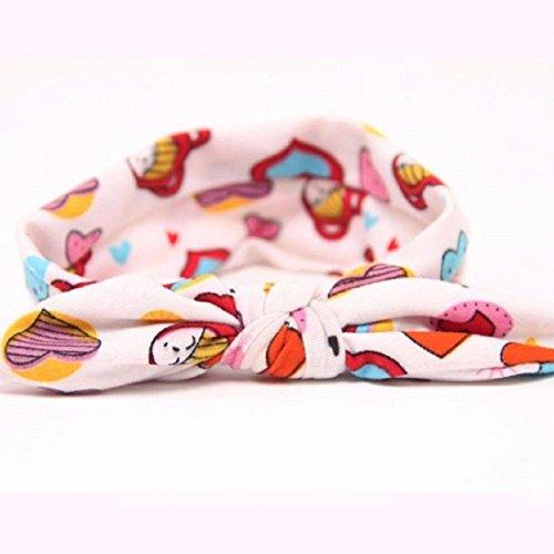 Bébés filles Bandeau Ularmo Bébé Enfant Filles bowknot Bandeau Hair Bow Band Head Decor Accessoires (F) C