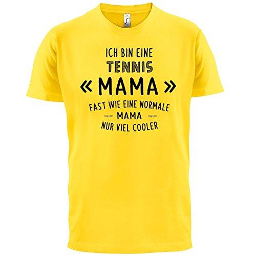 Ich bin eine Tennis Mama - Herren T-Shirt - 13 Farben Gelb