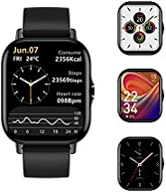 Voigoo Smartwatch Uomo Donna , Impermeabile IP67 1.7'' Orologio Fitness Tracker Touch Screen | Chiamat