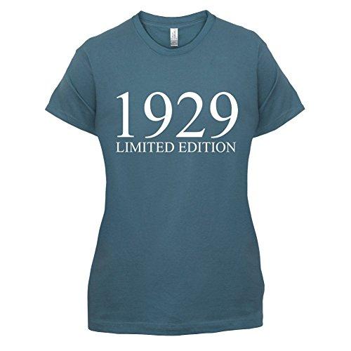 1929 Limierte Auflage / Limited Edition - 88. Geburtstag - Damen T-Shirt - 14 Farben Indigoblau