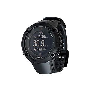 Suunto - Ambit3 Peak Black HR - Reloj GPS Multideporte + Cinturón de frecuencia cardiaca (Talla M) - Sumergible 50 m - Negro