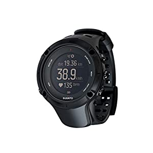 Suunto - Ambit3 Peak Black HR - Multisport GPS Watch + Heart Rate Belt (Size M) - Submersible 50 m - Black