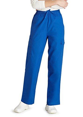 Adar Uniforms Medizinische Schrubb-hosen - Damen-Krankenhaus-Uniformhose 506 Color RYL | Talla: S - 7