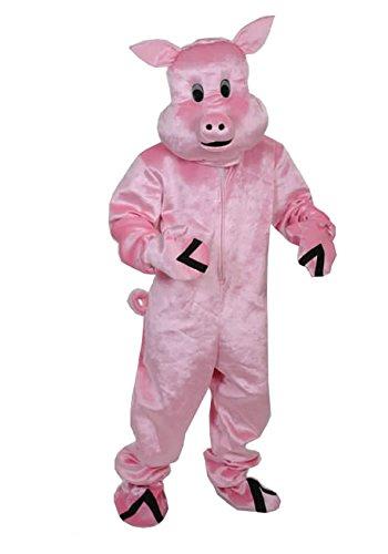 SCHWEIN POLLY GR. L - XL - XXL TOP KOSTÜM FÜR FASCHING KARNEVAL OSTERN (Kostüm Schwein)