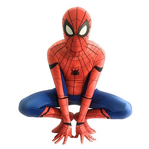 Kostüm Kind Muster - WERTYUH Kinder Erwachsene Film Cosplay Kostüm Cosplay Party Halloween Kostüm Druck Spinne Muster Für Erwachsene Kinder Kostüm,Adults-XXL