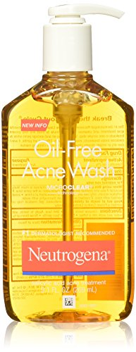 Neutrogena 0070501017128  Oil Free Acne Wash 9 1 Fluid Ounce - Best Price in India | priceiq.in