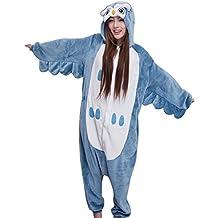 Molly Kigurumi Pijamas Traje Disfraz Animal Adulto Animal Pyjamas Cosplay Homewear Búho S