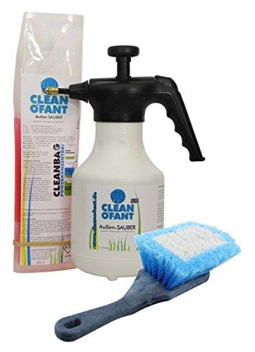 cleanofant-aussen-sauber-set-aussenreiniger-konzentrat-pumpspruhflasche-und-spezial-burste-spezielle