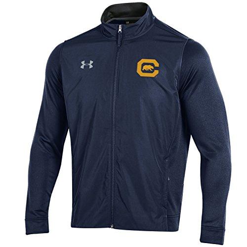 Under Armour NCAA Herren Tech Terry Full Zip Jacke, Herren, Tech Terry Full-Zip Jacket, Navy, Large Terry Zip Jacket