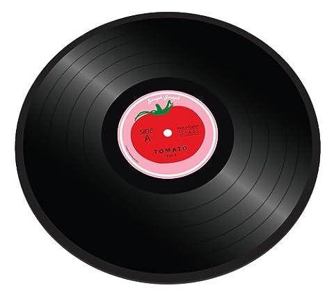 Joseph Joseph - Planche en Verre/Dessous de Plat - 30 cm - Disque Tomate