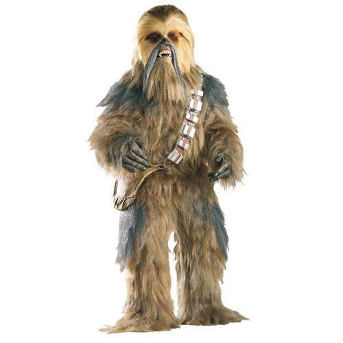 Edition Chewbacca Kostüm - PARTY DISCOUNT Herren-Kostüm Supreme Edition Chewbacca,