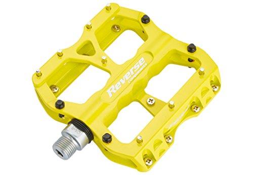 Reverse Escape Flat Fahrrad Pedal gelb 6061 Aluminium Flat Bar
