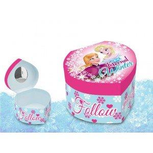 Disney - Frozen - Cuore Jewelry Box con specchio