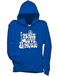 Sweatshirt Peace Love & Music Woodstock - Musik By Mush Dress Your Style