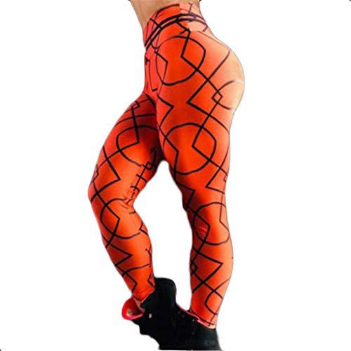 Setsail Damen Mode Hosen Hoch taillierte Unterhose Stretch Fitness-Yogahose Sporthosen Geeignet für Indoor- und Outdoor-Aktivitäten -