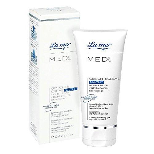 La mer MED Gesichtscreme Nacht ohne Parfüm 50 ml