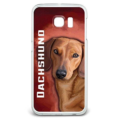 Dackel, Weiner Hund Pet Snap On Hard Schutzhülle für Samsung Galaxy S6Edge (Weiner Dackel)