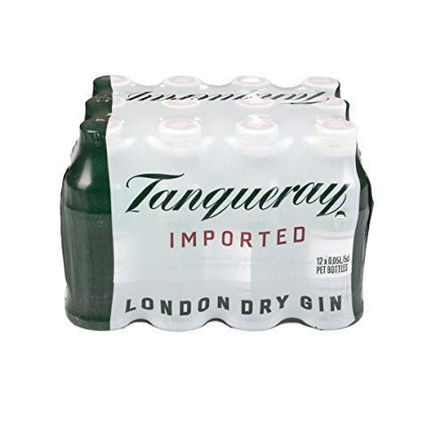 Tanqueray London Dry Gin 5cl Miniature - 12 Pack