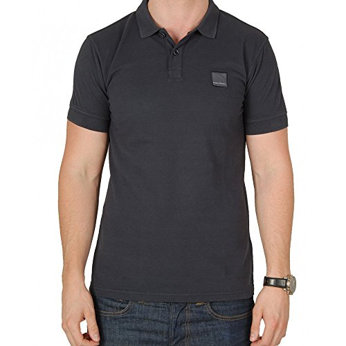 BOSS Orange Herren Poloshirt Dunkelblau (402)