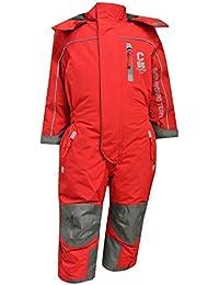 Outburst - Mädchen Schneeoverall Overall 10.000 mm Wassersäule, Rot