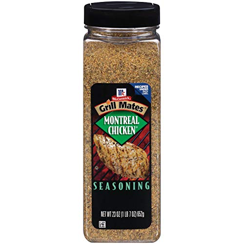 McCormick Grill Mates Montreal Chicken Seasoning 1 x 652g Bottle American - Mccormick Grill Mates