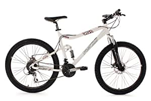 VTT tout suspendu 26'' PM359 blanc TC 50 KS Cycling