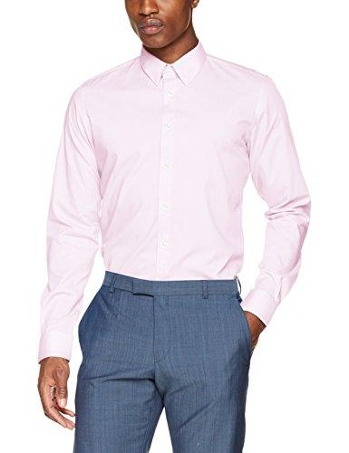 s.Oliver BLACK LABEL Herren Businesshemd Rosa (Purple/Pink 4070)