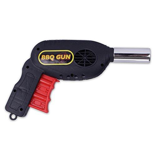 Handbetriebenes Grillgebläse Grillanzünder Handventilator Pistole zum Entfächern der Glut Ihres Grillfeuers