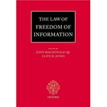 The Law of Freedom of Information