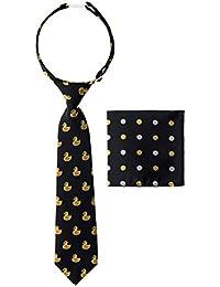 Canacana - Corbata de goma con diseño de lunares