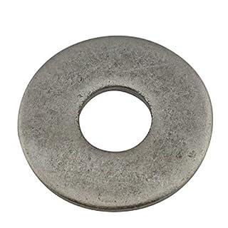 D2D |VPE: 10 Stück - Große Unterlegscheiben Form A - Größe: M4 - DIN 9021 - Edelstahl A2 V2A - Beilagscheiben Kotflügelscheiben