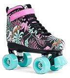 SFR Vision Canvas Rollschuhe Disco Roller Kinder Mädchen floral