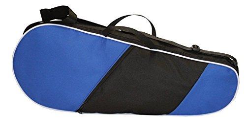 TENNISTASCHE Tennisschläger Schlägerhülle Tasche Schutzhülle Neu (Blau) (Für Tennisschläger Tasche)