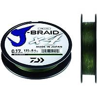 Daiwa J-trenza X4 Trenzado Sedal - Todas Las Tallas & Colores - verde oscuro, 0.19mm 270m