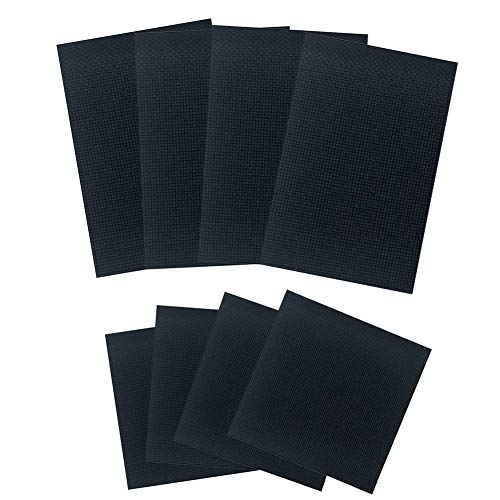 4 piezas tela Aida 11 unidades Classic Reserve Negro