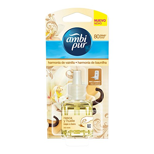 Ambi Pur Ai Vaniglia Deodorante per Ambienti Ricarica 21.5 m