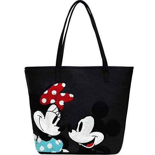 Loungefly Schultertasche Tasche Disney Mickey und Minnie Mouse