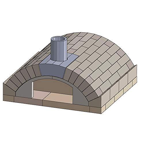 PUR Schamotte Pizzaofen Bausatz - Merano Basic