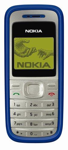 Nokia 1200 Blue (Organizer, 3 Spiele) Handy