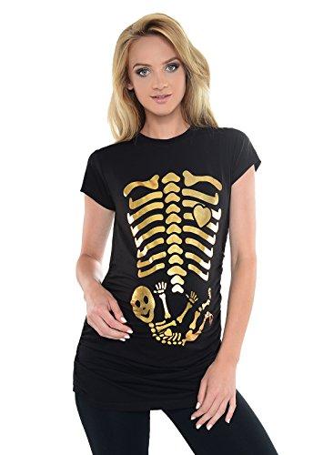 af7db05fc Purpless Maternity Skeleton - Camiseta Para Embarazada B2016 (36