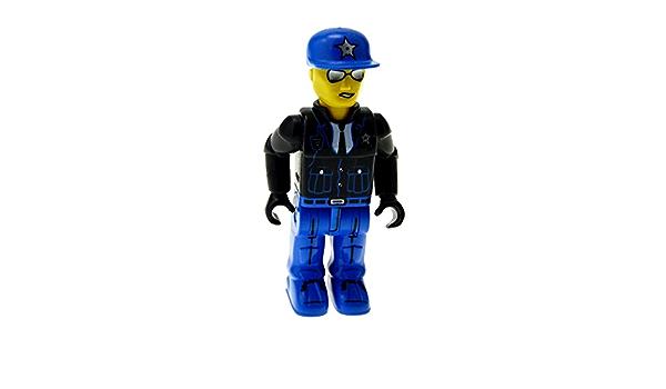 1 x Lego System Figur 4 Juniors Jack Stone Mann Res-Q Polizist Küstenwache Jacke