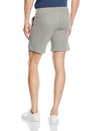 JACK & JONES Herren Shorts Jjorross Sweat Shorts Grau (Light Grey Melange Fit:COMFORT FIT MELANGE)