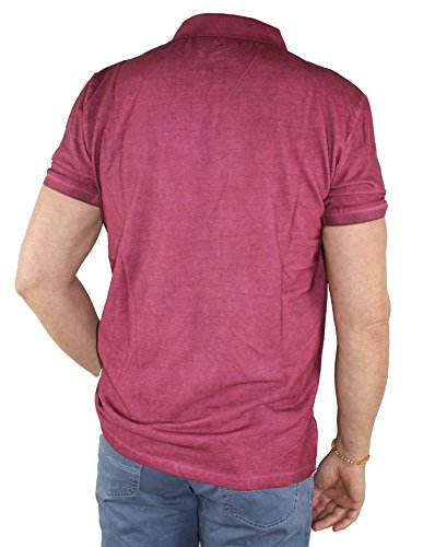 Pioneer Herren Polo Shirt 5745 2992 red wine (871)