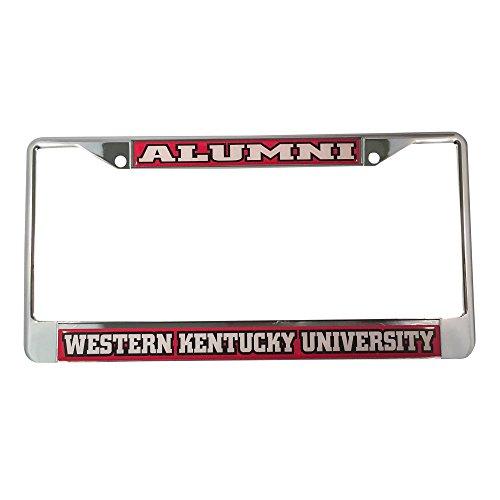 Western Kentucky University Alumni Nummernschild Rahmen