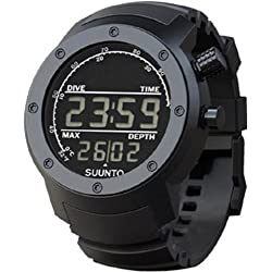 Suunto Men's Elementum Aqua Black Rubber/Dark Face Watch SS014528000