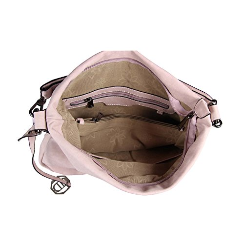 OBC Only-Beautiful-Couture, Borsa tote donna Nero Schwarz V1 ca.: 33x30x12 cm (BxHxT) Cognac 35x29x10 cm